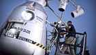 Red Bull Stratos - Baumgartners 2. Test