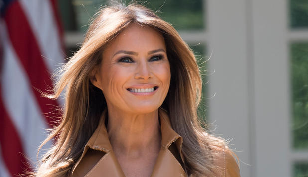 Melania Trump meldet sich zurück