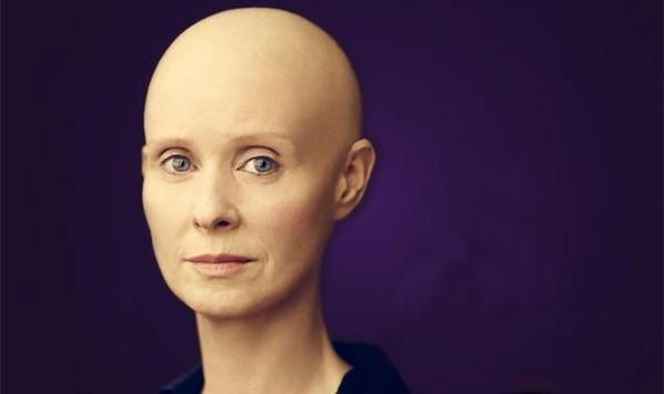 Cynthia Nixon Satc Star Trägt Glatze Newsat