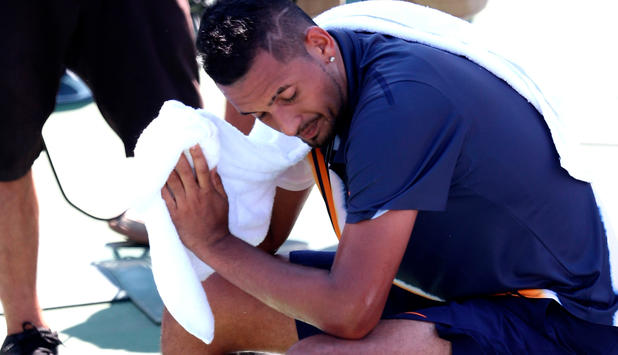 "Tennis - Eklat bei den US Open: Referee ""coachte"" Kyrgios"