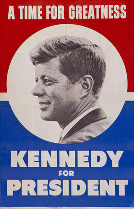 """Kennedy for President"", USA 1960"