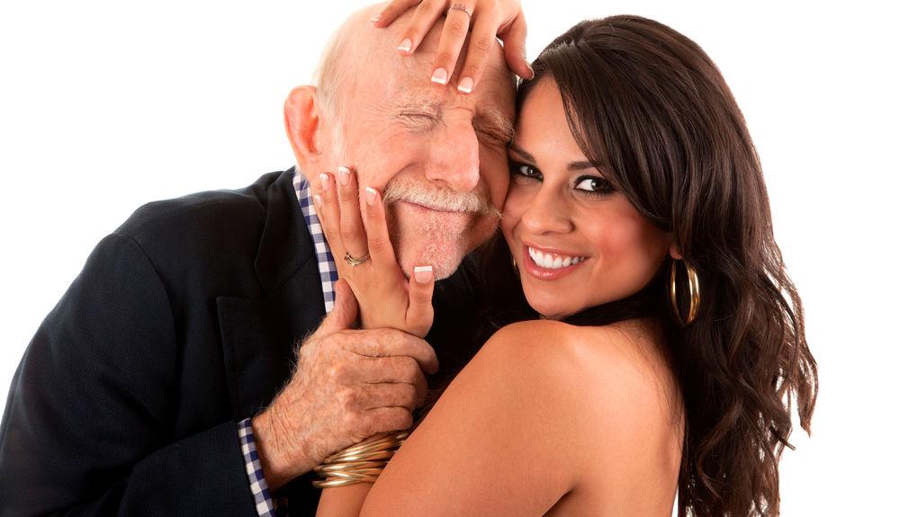 Älterer Mann Jüngere Frauen