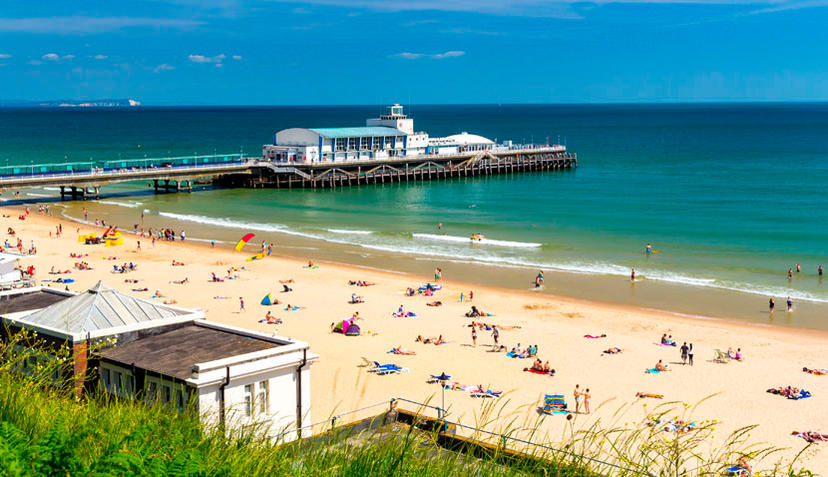 Platz 20: Bournemouth Beach