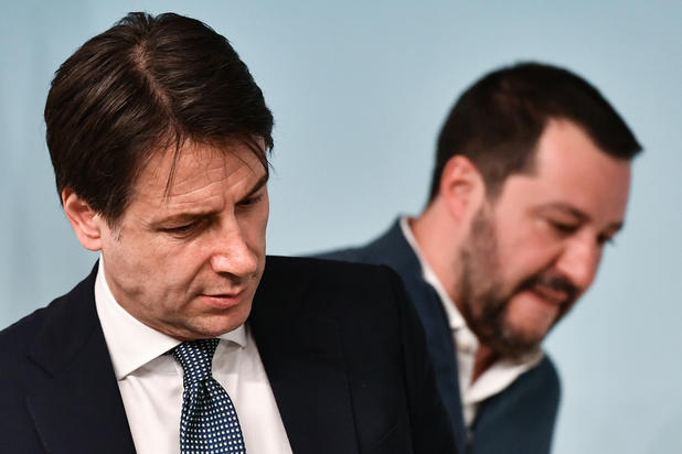 Lega mit 34,9 Prozent auf Rekordhoch in Italien