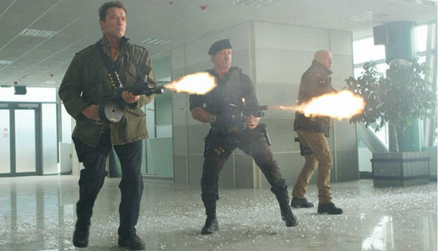 The Expendables 2 - Großväterliche Action