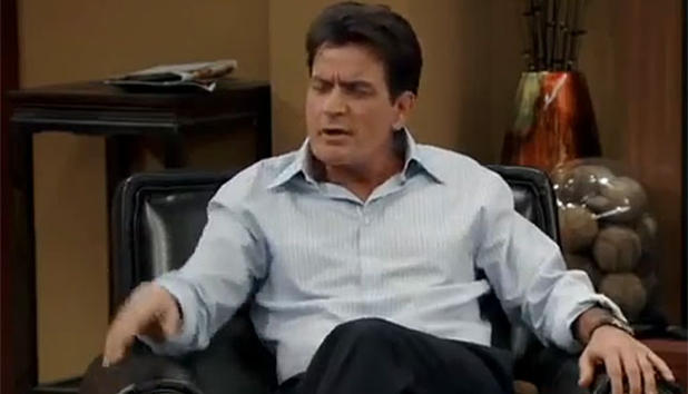 Anger Management - Charlie Sheen auf ATV