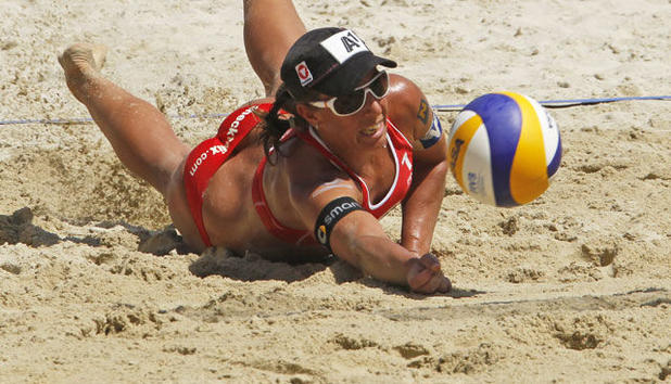 Beach-Volleyball - Pleite vor Olympia