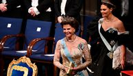 Nobelpreis-Verleihung - Prinzessin Victoria im One-Shoulder-Dress