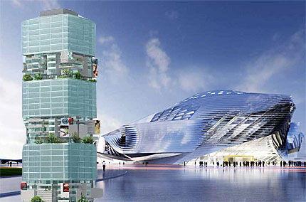 Heimische Architekten Hans Hollein Und Coop Himmelblau Feiern Erfolge In China