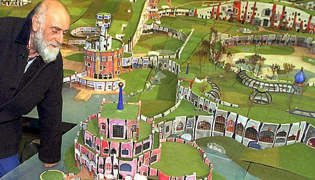 Friedensreich Hundertwasser Kunstler Legende Geehrt News At