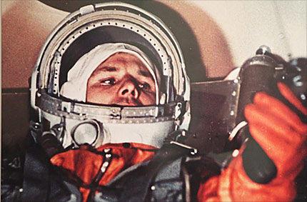 Juri Gagarin flog vor 50 Jahren ins All Russe war erster Mensch