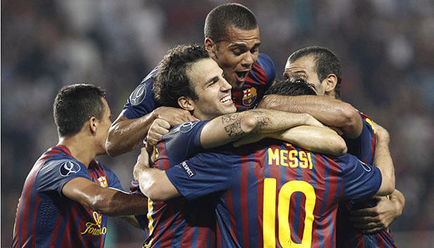 UEFA Supercup - Barca, wer sonst?