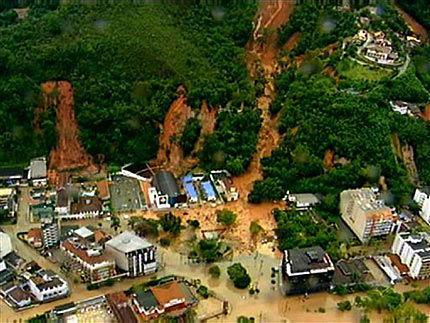 Unwetter brasilien