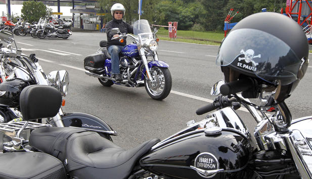 European Bike Week - Harley-Treffen in Faak