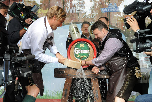 Start der Wiener Wiesn