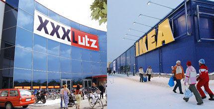 XXXLutz dringt ins Ikea Territorium ein: Möbelhändler eröffnet