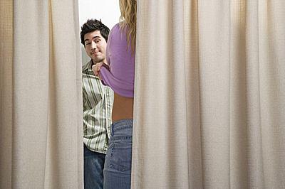 looner sex in der umkleidekabine