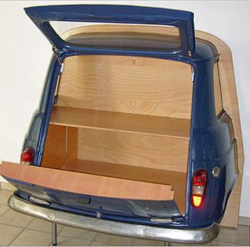 Möbel aus Autoteilen • Auto & Motor • NEWS.AT