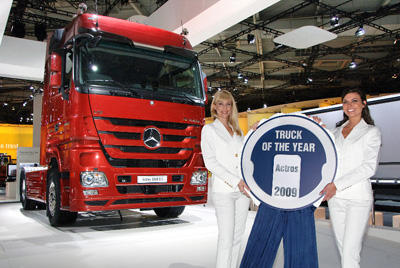 "Mercedes-Benz Actros ""Truck of the Year"""