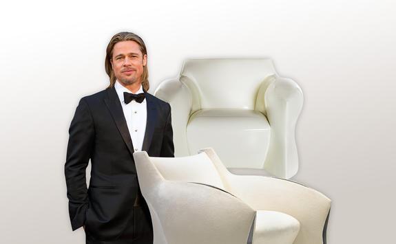 Möbeldesigner brad pitt hollywoodstar designt möbel at