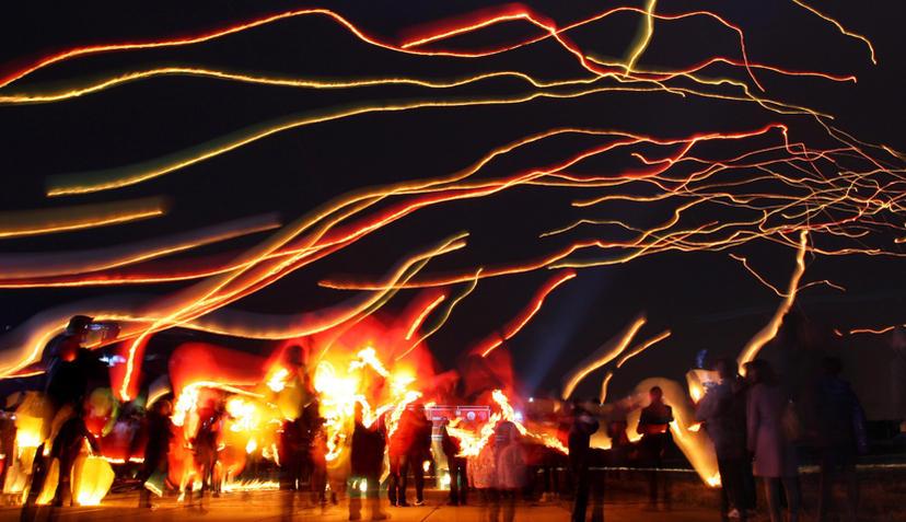 chinesische lampen steigen lassen