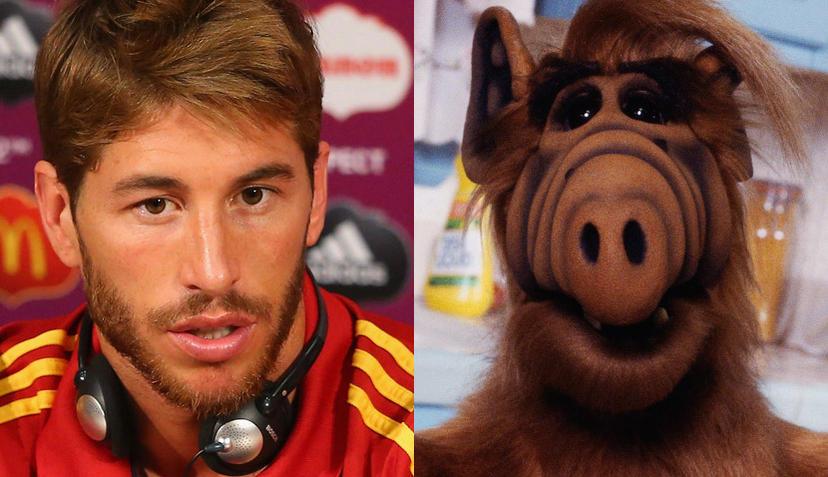 Sergio Ramos & Alf - Promi-Zwillinge-Sergio-Ramos-Alf