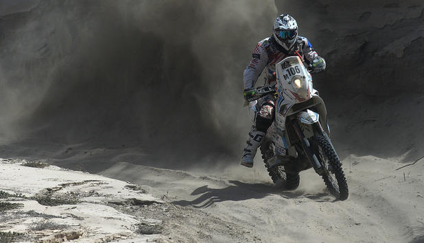 Thomas Bourgin, Rallye Dakar 2013