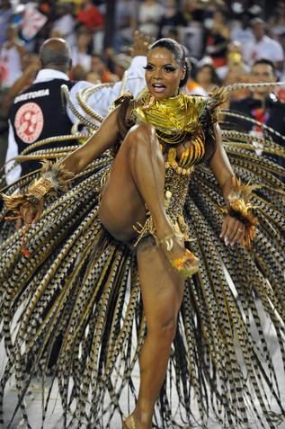 karneval nackt