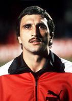 Hans Krankl im ÖFB-Dress im Jahr 1980. - oefb-nationalmannschaft-oesterreich-hans-krankl