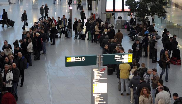 Düsseldorf Streik Flughafen