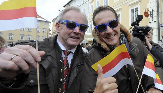 Dörfler und Strache.