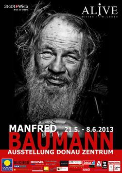 Manfred Baumann Alive Strassenplakat - Manfred-Baumann-Alive