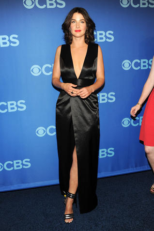Coby Smulders bei CBS Upfront