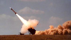 Missile Is Launched Against A Target