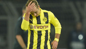 Mario Götze in der Champions League