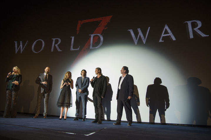 World War Z Paris Premiere