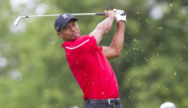 Tiger Woods beim The Memorial Tournament in Dublin im Jahr 2013