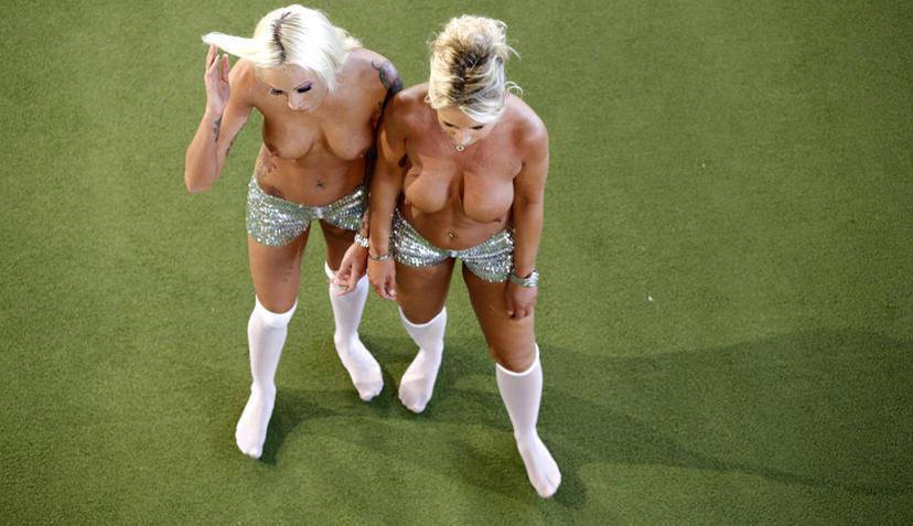 Frauenfussball Nackt
