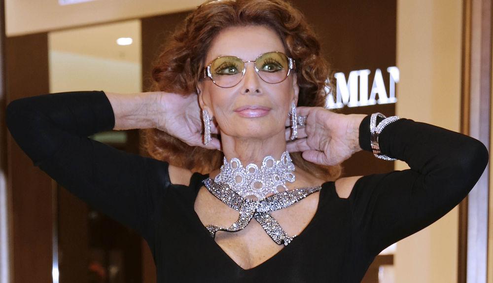 Sophia Loren Wrde sich mit 78 Jahren nackt zeigen - buntede