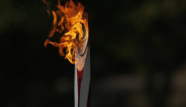 Olympische fackel
