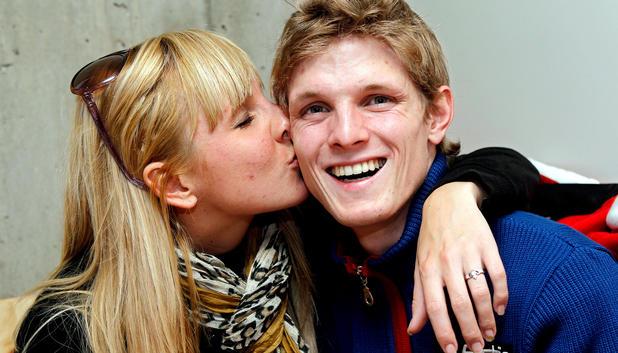 Thomas Morgenstern mit Kristina Cerncic - morgesntern-cerncic
