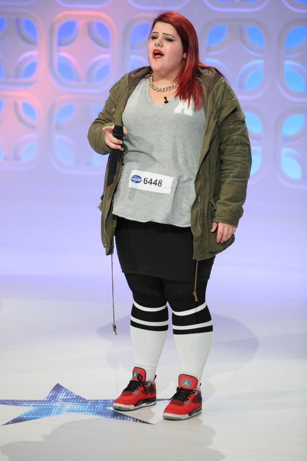 Selin beim DSDS-Casting