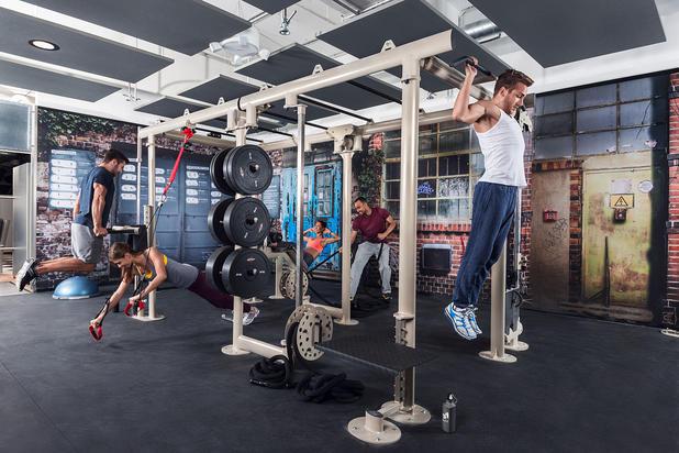 McFit U201eHome Of Fitnessu201c Erinnert Optisch An Lager  Oder Industrieräume In  Metropolen Wie New York, London Oder Berlin