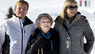 Willem-Alexander, Königin Beatrix, Maxima in Lech