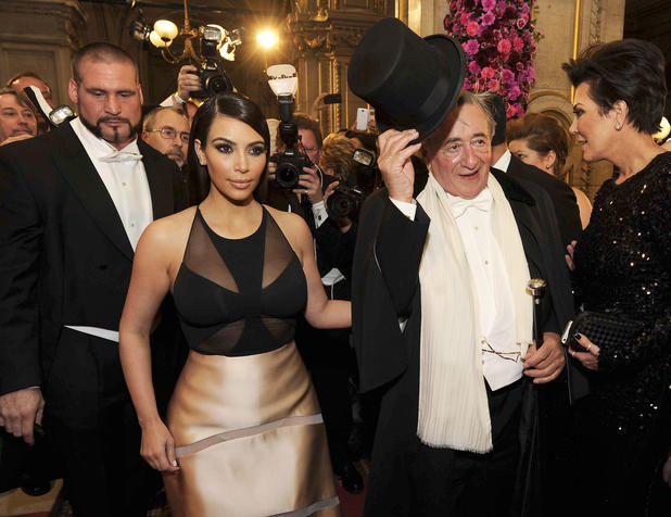 Kim Kardashian und Richard Lugner am Opernball