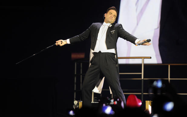 Robbie Williams in Wien.