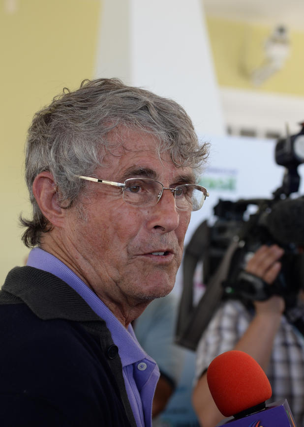 Bora Milutinovic beim Interview