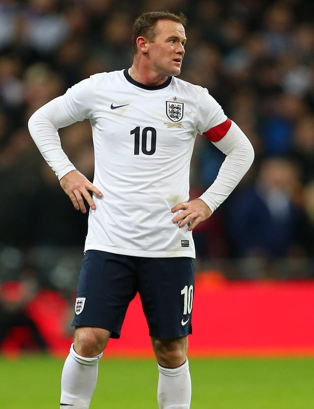 Rooney im England-Dress