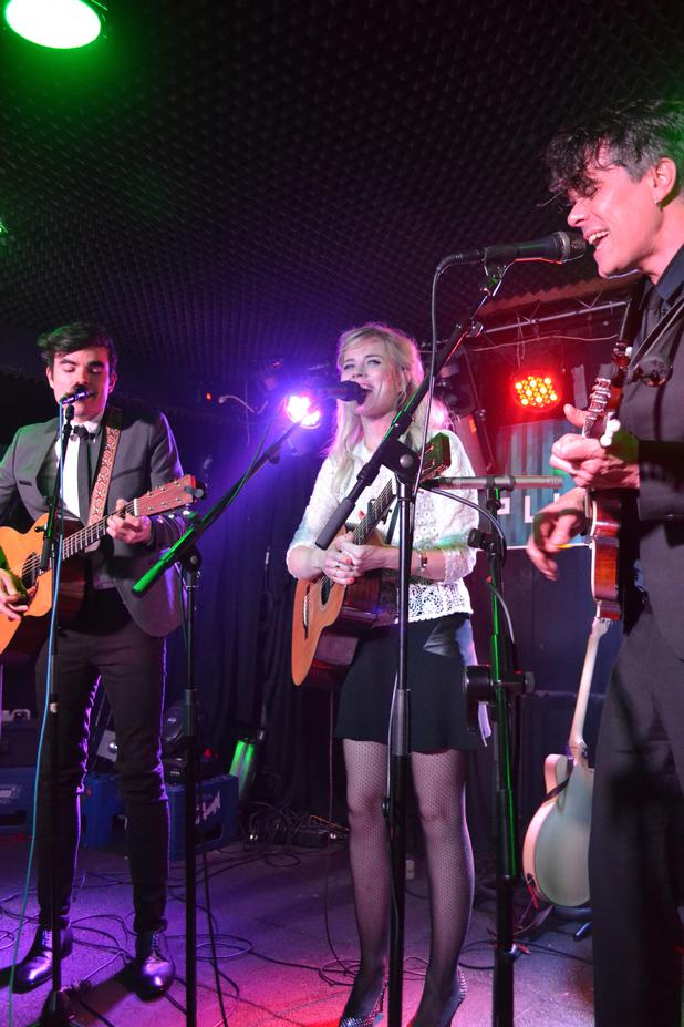 The Common Linnets im Replugged in Wien