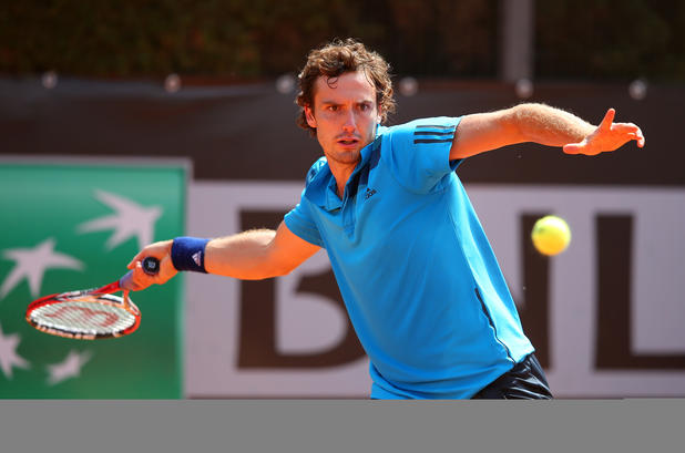 Ernests Gulbis in Rom
